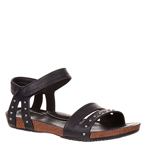 Rocky 4EurSole RKH164 Women's Brightness Flat Sandals Black cheap prices authentic S47DO