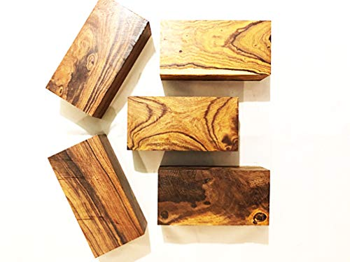 - Exotic Ironwood Blanks Kit from The Sonoran Desert. (5 Large Pieces) Dimensions 6 x 3 x 2 in.