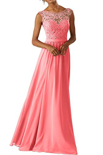 Braut Lilac La Wassermelon Festlichkleider Ballkleider Partykleider Spitze Neu Lang 2018 Abendkleider Marie xCHwIH5qf