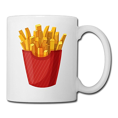 Superman Costumes Through The Years (NVVM Custom French Fries White Mug 15 Oz For Coffee/tea/espresso/milk/water)