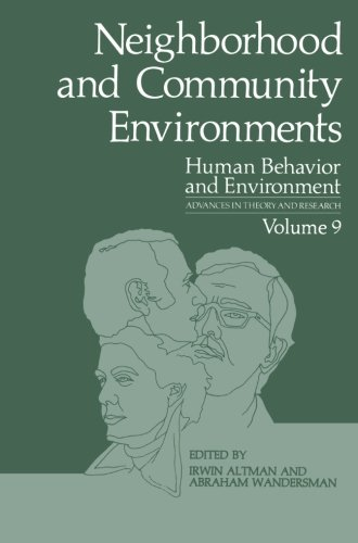 Neighborhood and Community Environments (Human Behavior and Environment)