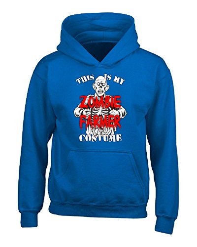 Halloween This Is My Zombie Farmer Scary Creepy Costume - Adult Hoodie 3xl Royal