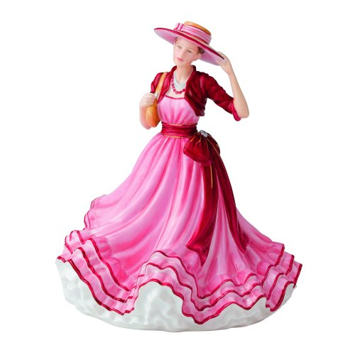 Figurine Doulton Birthday Royal (Royal Doulton Traditional Kate Hat Figurine, 8.7