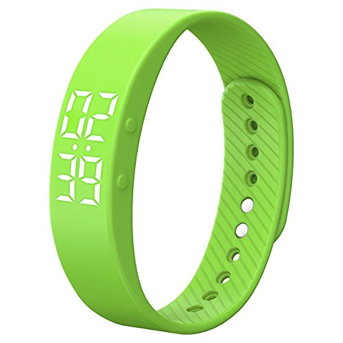 Alarm Multi Vibration Watch - [Upgrade Version]Smart Pedometer Watch Non-Bluetooth Vibration Alarm Sport Bracelet Fitness Tracker Smart Watch with Timer Step Calories Counter Distance Time / Date for Walking Kids Women Men
