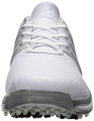 Scarpe Da Golf Adidas Adidas Ad Alte Prestazioni Da Uomo Bianco / Argento Metallizzato / Bianco