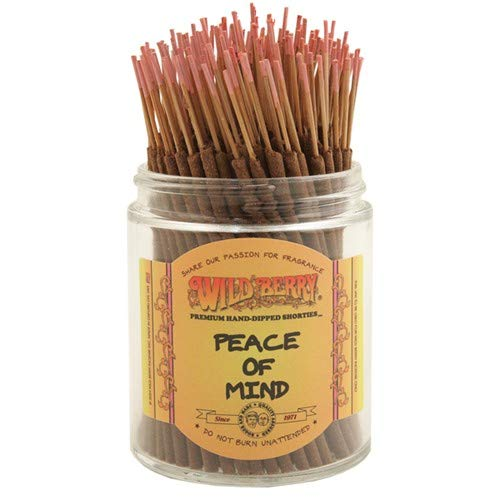 Peace of Mind - Wild Berry Shorties Incense Sticks - 100