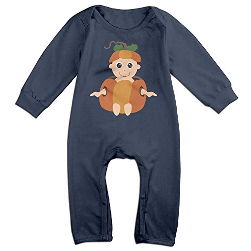 Eilinqch Halloween Character Baby Boys Girls Cute Long Sleeve Romper Jumpsuit Bodysuit 18 Months Navy