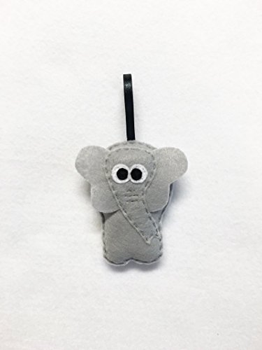 Elephant Christmas Ornament, Eleanor the Elephant