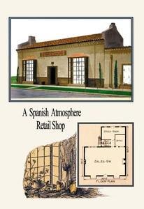 (Spanish Atmosphere Retail Shop Fine art canvas print (20