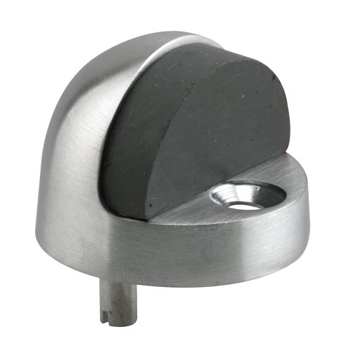 Prime-Line Products J 4545 Door Floor Stop, Dome Type, 1-5/16-Inch Tall, Brushed Chrome by Prime-Line