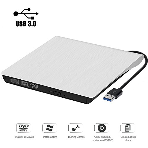 External CD Drive. GuanD USB 3.0 External DVD CD Drive,Burne