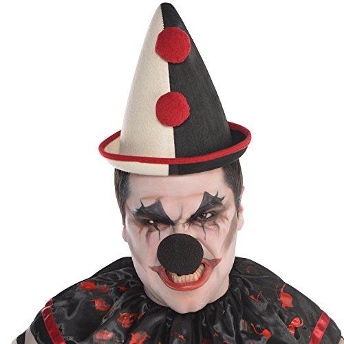 Amscan Vintage Clown Hat - Freak Show ()