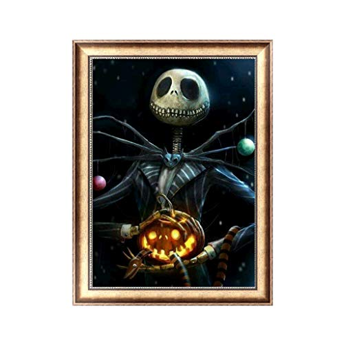 Yumoo Halloween DIY 5D Diamond Painting, Crystal Rhinestone Embroidery Pictures Arts Craft for Home Wall Decor2