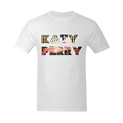 XouAEN Men's Katy Perry Logo T-shirt