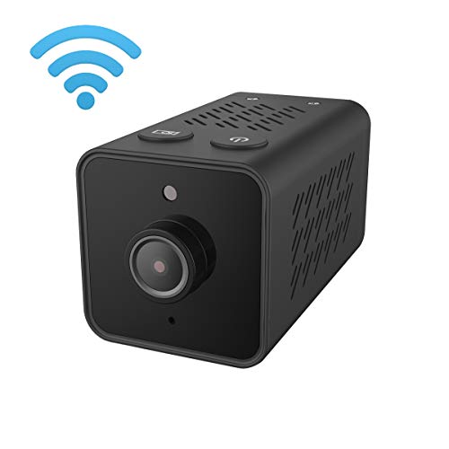 Lenofocus Spy Camera Wireless WiFi Hidden Cameras 1080P HD Night Vision Motion Detection Mini Nanny Cam Indoor Home Security Covert Video Camcorder Car Dash Camera