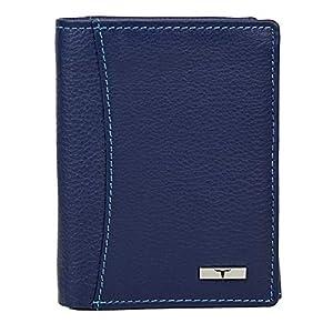 URBAN FOREST Black Leather Men's Wallet (UBF130BLK1018)