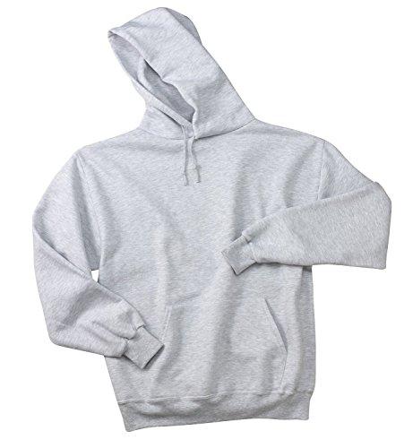 (Sport-Tek Men's Super Heavyweight Pullover Hooded Sweatshirt L Athletic Heather)