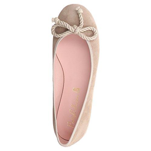 Mooie Ballerinas Rosario, Dame Ballerinasreeks Beige