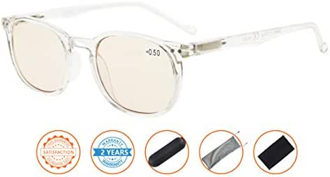 Reduce Eyestrain,Anti Blue Rays,UV Protection,Unisex Computer Reading Glasses