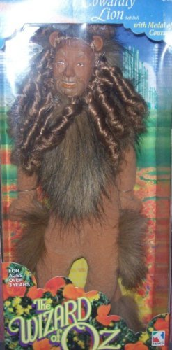 Cowardly Lion Soft Doll with Medal of -