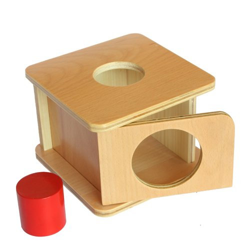 Montessori Imbucare Box with Red - International Class First Shipping