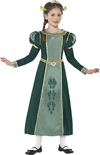 Smiffy's Shrek Princess Fiona Costume Medium Age 7-9