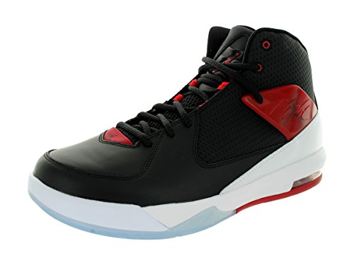 Nike Jordan Air Incline, Scarpe Sportive, Uomo Black/Gym Red/White