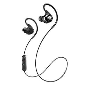 YIYU SUJIAO Stereo Sweatproof Jogger, Running, Sport Headphones Earbuds (Black)