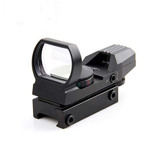 YAHOUHEI Rail Riflescope Hunting Optics Holographic Red Dot Sight Reflex 4 Reticle Tactical Scope Collimator Sight (11mm Rail)