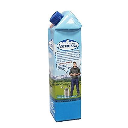 Central Lechera Asturiana - Leche UHT Semidesnatada 1000 ml - Pack de 6 (Total 6000 ml): Amazon.es: Alimentación y bebidas