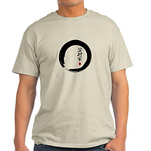 Xlt Brush Tee (CafePress - Enso Open Circle with
