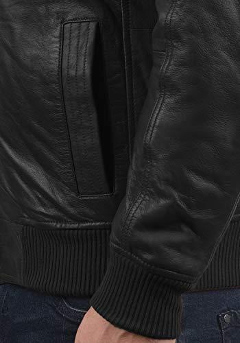 s9000 Cuir solid nbsp; Homme Veste Black En Camash q6x40F6t