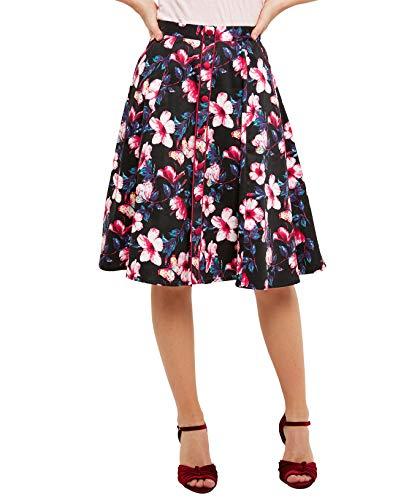 Joe Browns Femme Jupe midi  Fleurs Multicolore