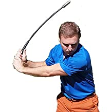 "Golf Swing Training Aid for Men and Women, 31"" - Club Trainer and Simulator"