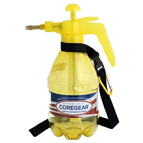 COREGEAR Classic USA Misters 1.5 Liter Personal Water Mister Pump Spray Bottle (Yellow) ()