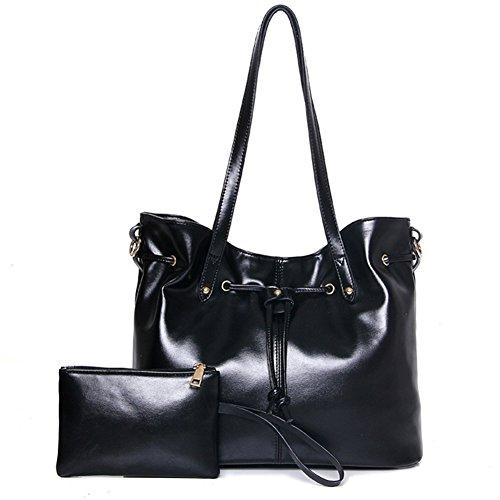 fanhappygo - Bolsa Mujer negro