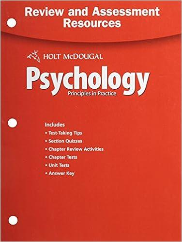 Amazon psychology principles in practice review and assessment psychology principles in practice review and assessment resources 1st edition by holt mcdougal fandeluxe Image collections