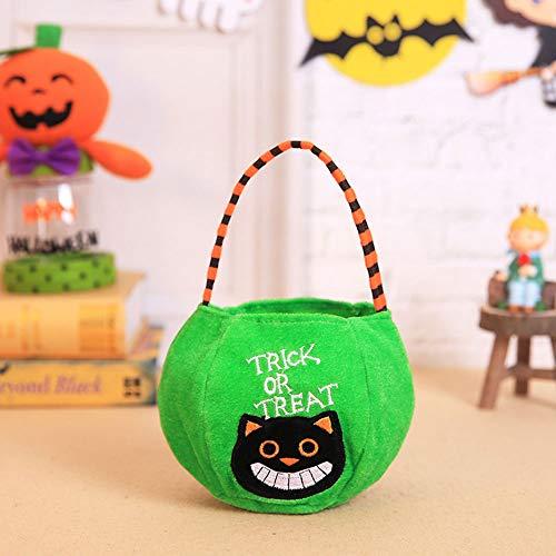 OYJJ Candy Bag Handbags Cute Pumpkin Flannel Pouches Bonbon ()
