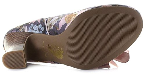 Jane Womens Madelaine Shoo Mary Floral Ruby Slate Shoes YwCBxSq1