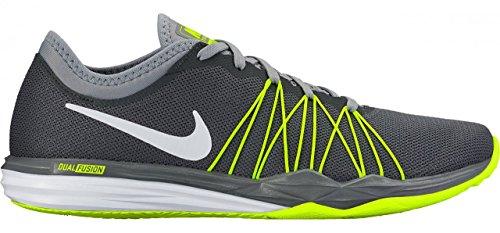 Nike Wmns Nike Dual Fusion TR Hit–Dark Grey/White da Stealth V., 10.5