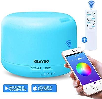 NEWKBO 300 ml Smart Aroma Aceite Esencial Difusor App/WiFi Mando a Distancia Humidificador Purificador De Aire: Amazon.es: Hogar