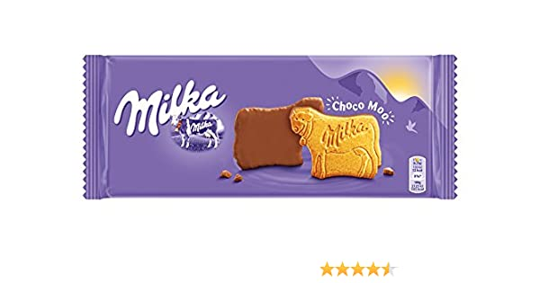Milka - Galleta Chocolate Con Leche, 200 g: Amazon.es: Alimentación y bebidas