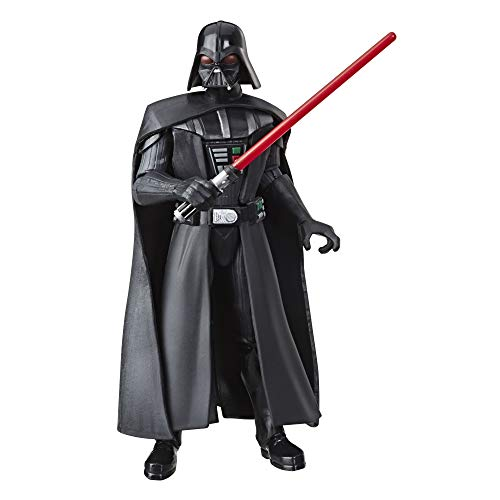 """Star Wars Galaxy of Adventures Darth Vader 5""""-Scale Action Figure Toy Inspired by The Original Trilogy with Fun Action Move"""