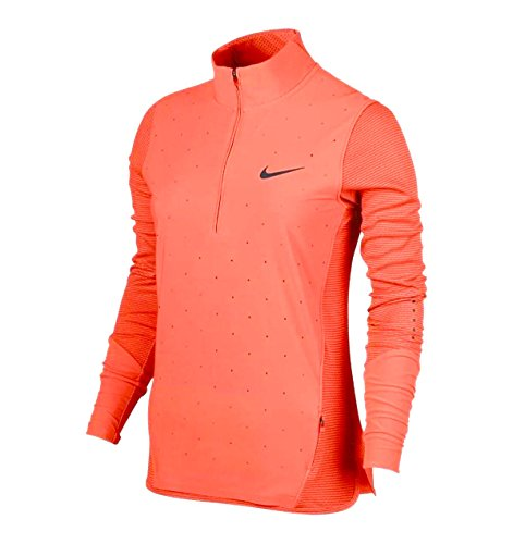 Women's Nike AeroReact Hybrid Half Zip Running Jacket 800936-842 - Small by NIKE