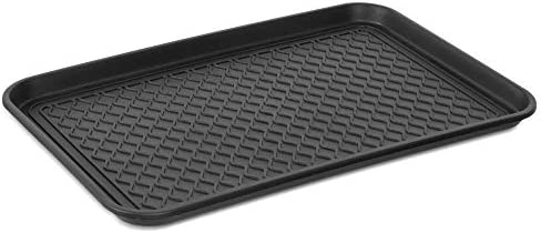 """BDK """"ToughStuff Multi-Purpose Waterproof Tray – Outdoor/Indoor Heavy Duty Boot Tray for Automotive, Shoes, Pets, Garden, Cleaning, Garage, & More – 30″"""" x 15″"""""""""""