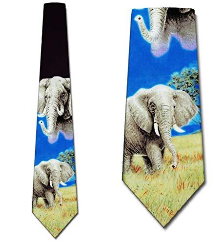 - Elephant Tie Mens Neckties Ties by Ralph Marlin
