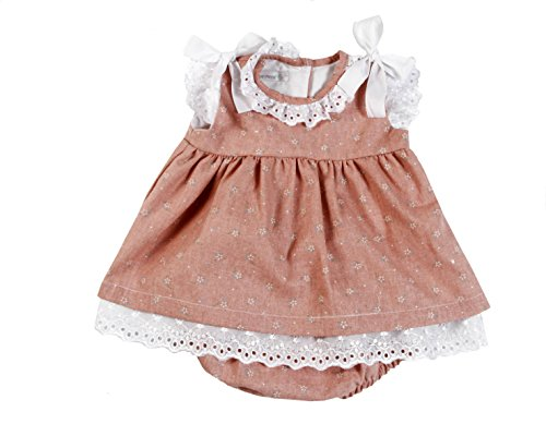 otton 2-Piece Floral Sun Dress & Bloomer Set ()