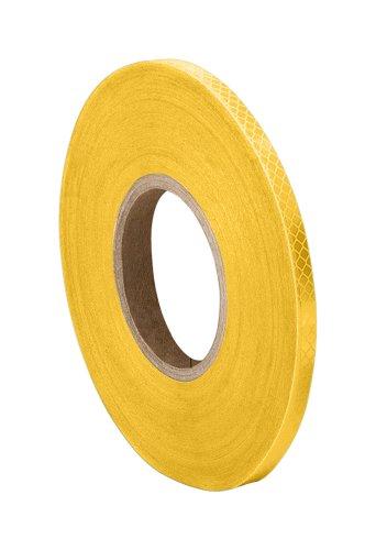 "UPC 888519203576, 3M 3431 Yellow Micro Prismatic Sheeting Reflective Tape 0.375"" x 50 yd"