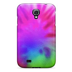 New Fashion Premium Tpu Case Cover For Galaxy S4 - Hp Laptop Tie Dye Free