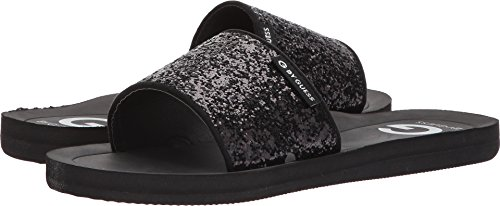 G by GUESS Women's Tomie Black Glitter 7 M US